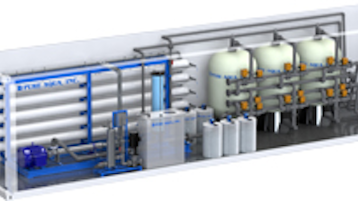Adesal Containerized Reverse Osmosis Systems Left