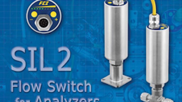 Afci Fs10a Sil2 Flow Switch Analyzer 0513 Hi