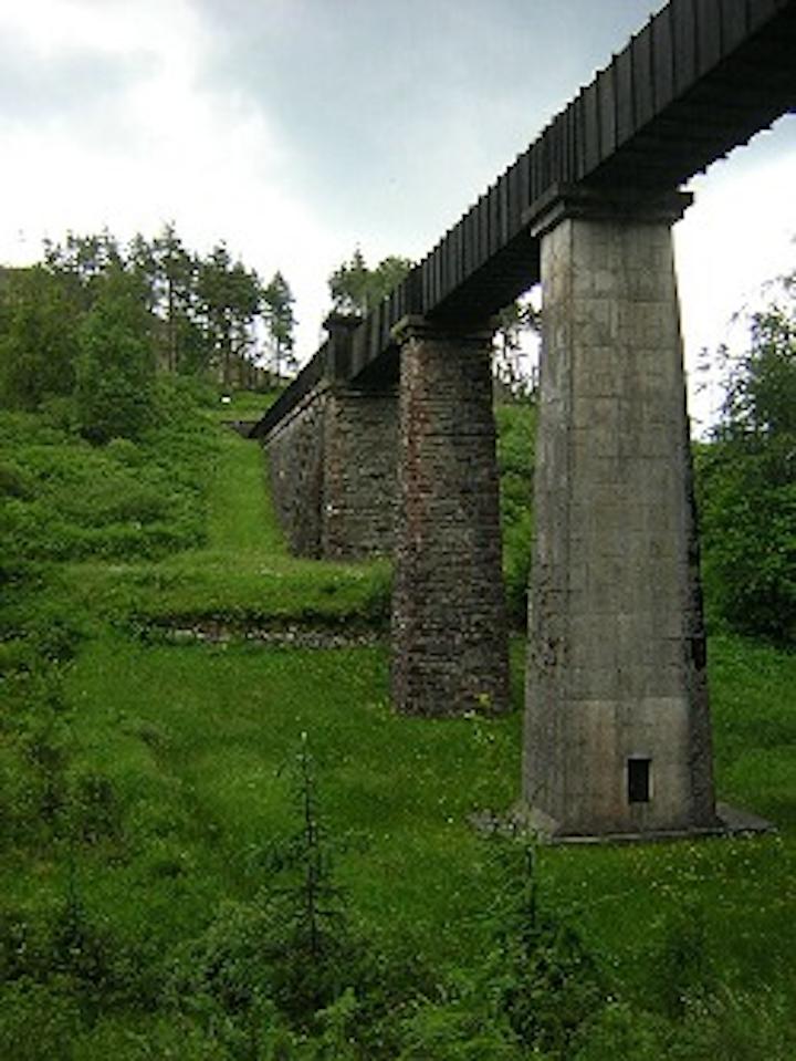 Aqueduct In Loch Ard Forest Wikim 250