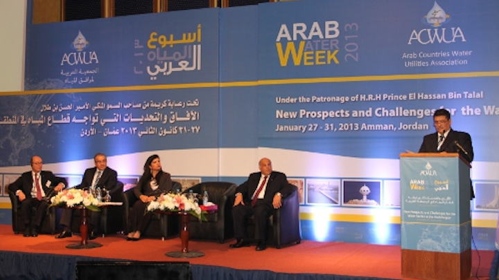 Arab Water Week Opening Web