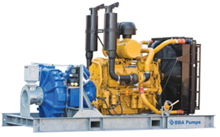 Ba C250 Bolt On Pump Package For Offshoreindustry