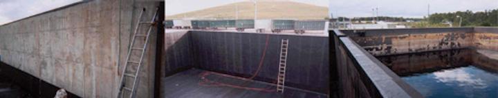 Blair Leachate Tank Before
