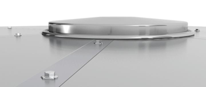 Cst Flush Batten Aluminum Geodesic Dome