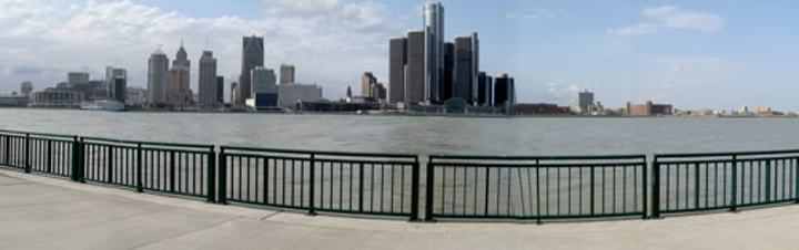 Detroit City Panorama2