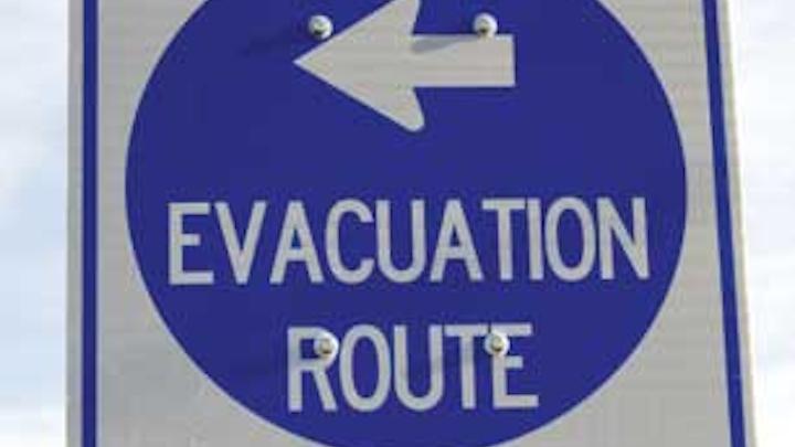 Evac Sign 1210ww