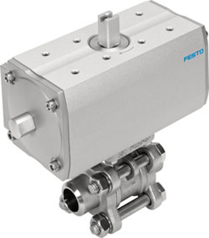 Festo Vzba And Dfpb Ball Valve Drive Unit 16153u 1