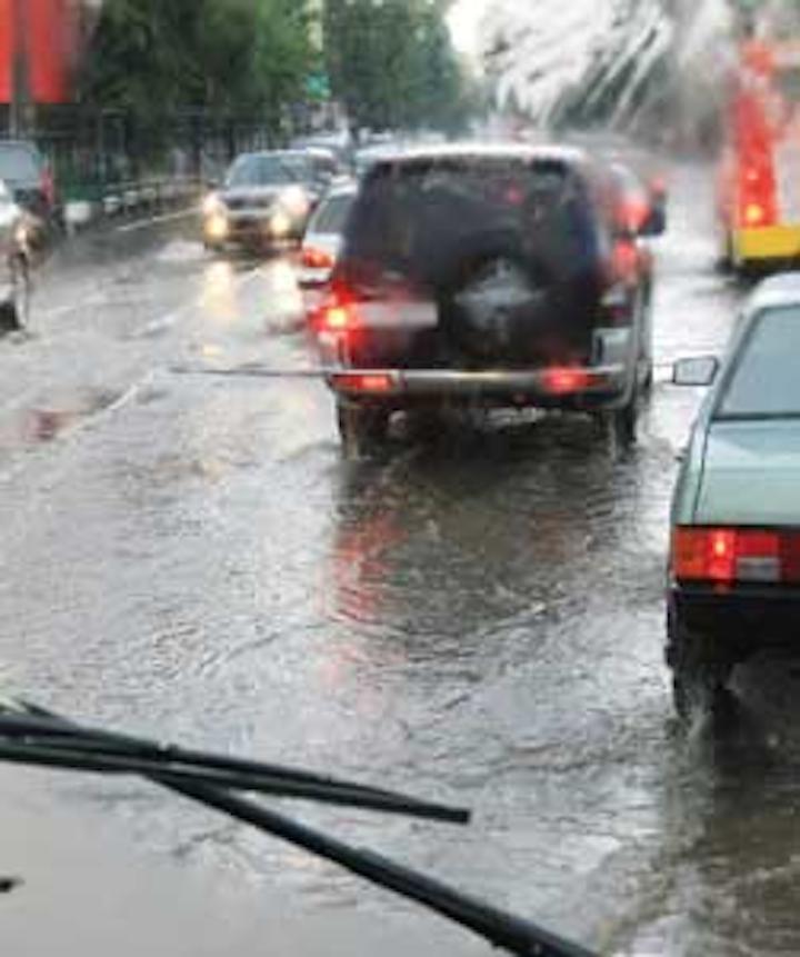 Flooded Road 1311ww