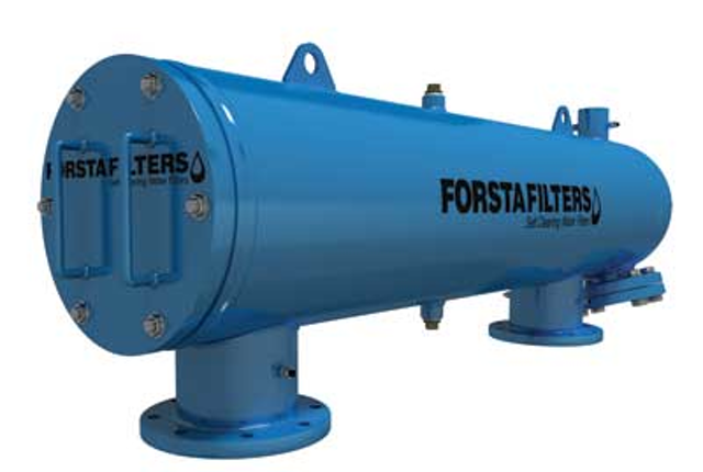 4921e4ae4b7 Forsta Filters offers self-cleaning water filters