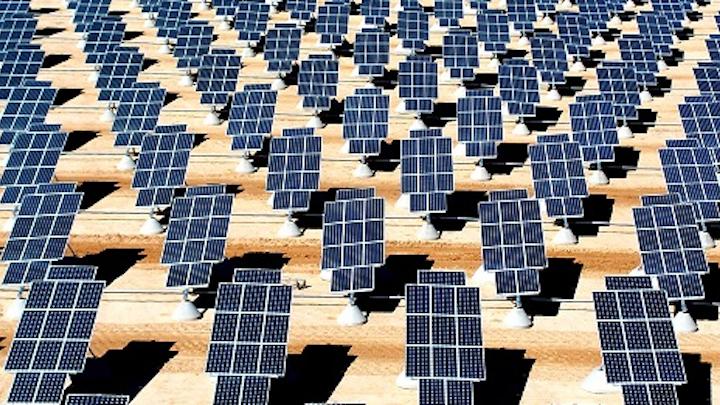 Giant Photovoltaic Array