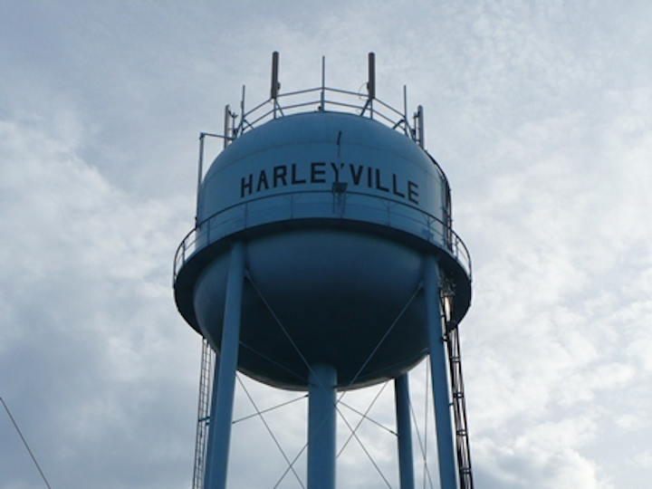 Harleyville Water Tower