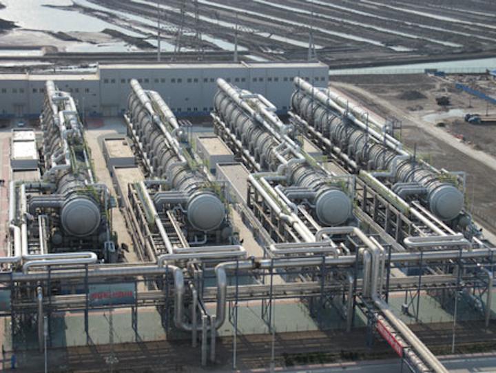 Ida Desalination Tianjin