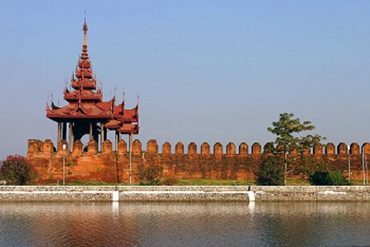 Mandalay Fort Wall Web