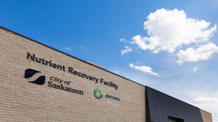 Ostara Saskatoon Nutrient Recovery Facility