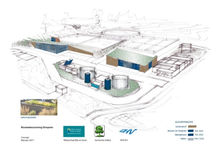 Netherlands sewage treatment plant to incorporate innovative