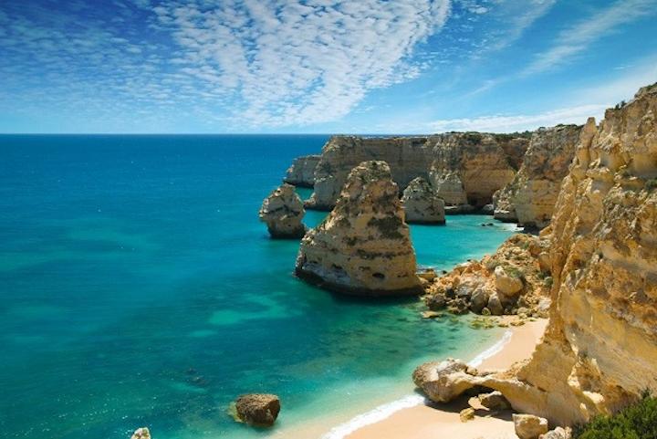 Portuguese Beach Algarve Web