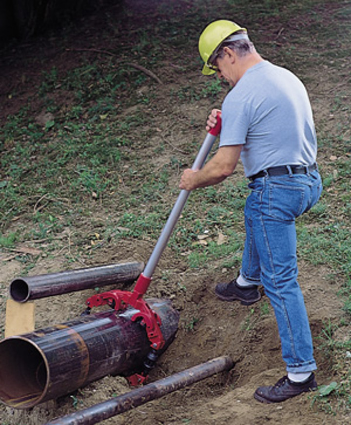 Reed Rotary Cutter In Use