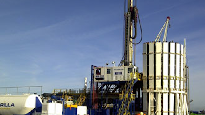 Shale Gas Well Fracking