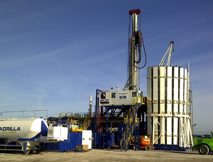 Shale Gas Well Fracking At Preese Hall In Lancashire Uk Source Cuadrilla Resources Web