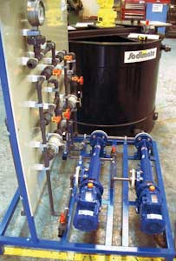 Sodimate Skid Pump 1305ww