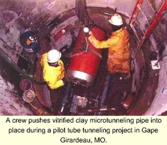 Clay Pipe Facilitates Low-Cost