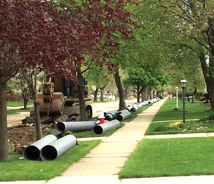 Uwm Pipe Pipe To Be Installed