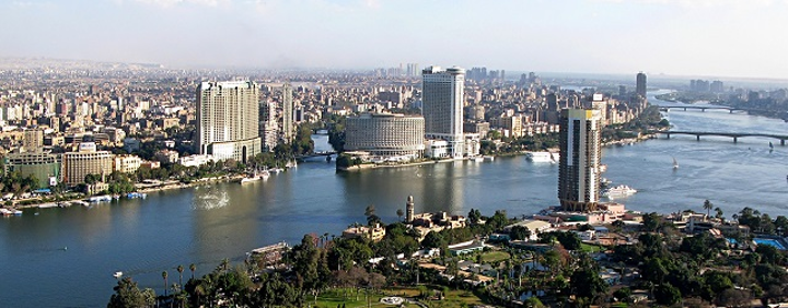 View From Cairo Tower 31march2007