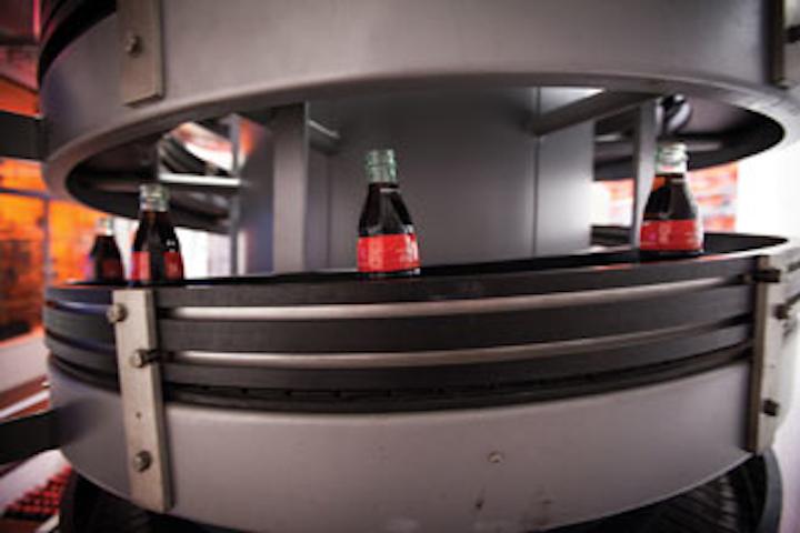 World Of Coca Cola Bottles On Spiral