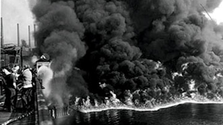 Wwema Cuyahoga River Fire Nov