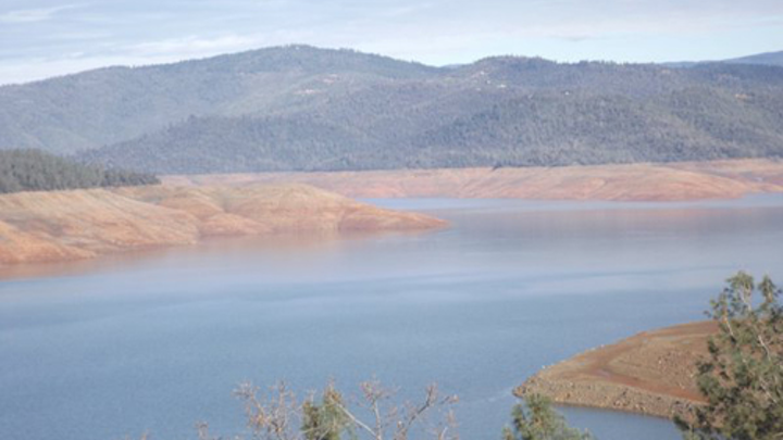 Calif  storms help fill reservoirs, but levels remain low