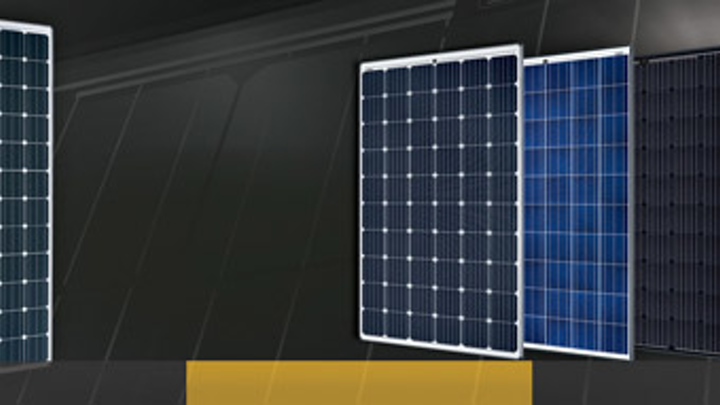 SolarWorld solar panels.