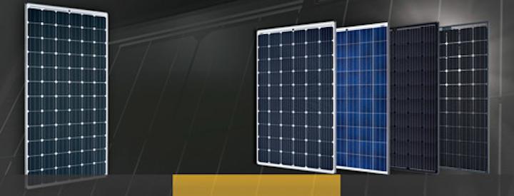 SolarWorld solar panels.
