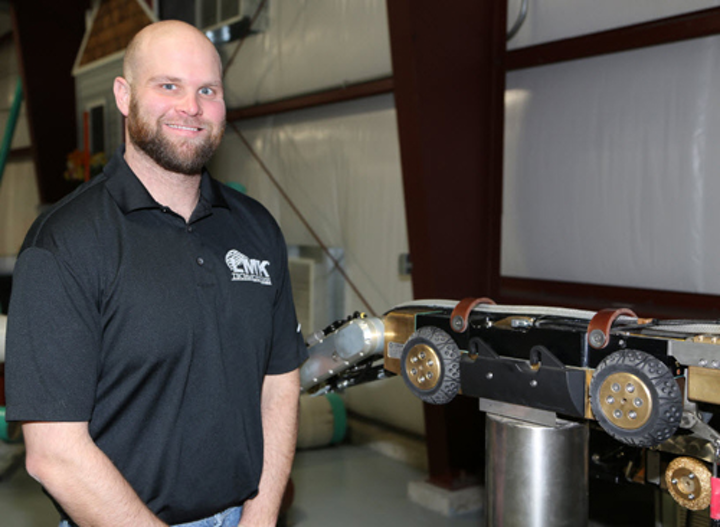 Josh Morris, Robotics Specialist