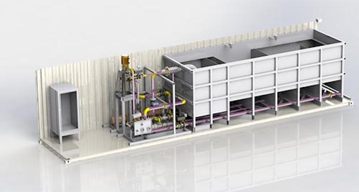 Intelliflux mechanical separator rendering courtesy Water Planet