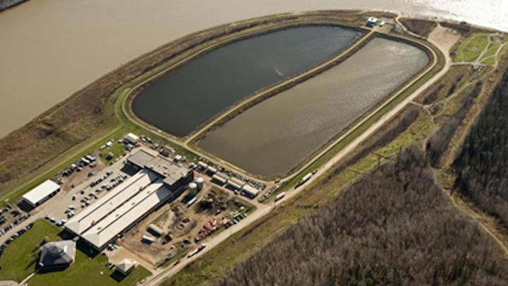 Athabasca waste fluid facility.