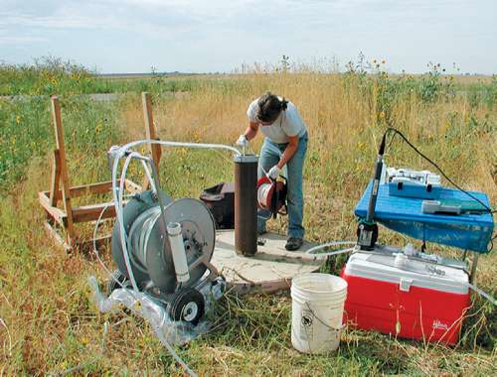 Groundwater monitoring in Colorodao. Courtesy, USGS.