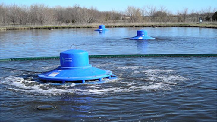 Blue Frog's aeration treatment. Courtesy: Blue Frog.