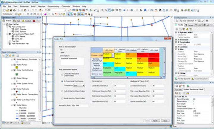 InfoMaster screen. Courtesy: Innovyze