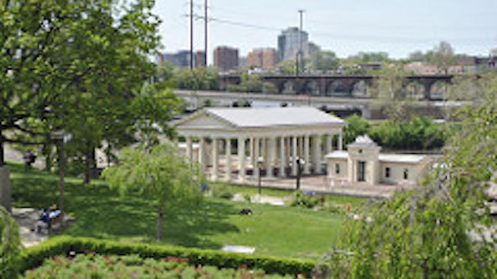 The Fairmount Water Works Interpretive Center in Philadelphia.