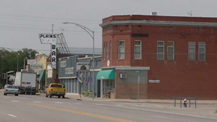 Downtown Hugo, Colo. Source: Wikimedia Commons.