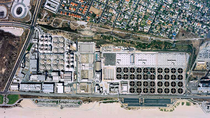 LA Sanitation's Hyperion Water Reclamation Plant in Los Angeles, Calif. Courtesy: LA Sanitation