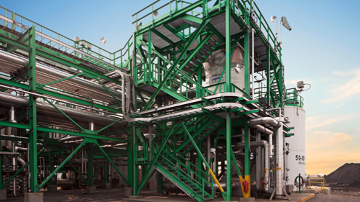 CRC's Wastewater Improvement Project plant using GE technologies. Image: GE.