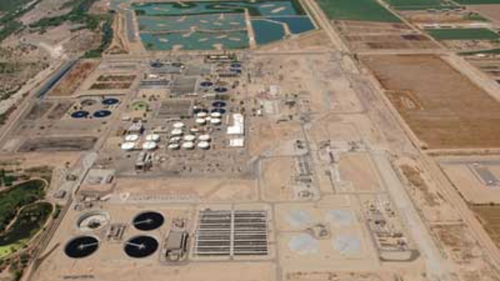 The 91stAve Wastewater Treatment Plant, Phoenix, Ariz.