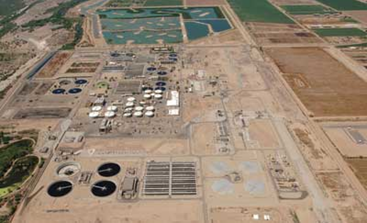 The 91st Ave Wastewater Treatment Plant, Phoenix, Ariz.