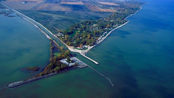 Lake Erie. Courtesy: Wikimedia commons.
