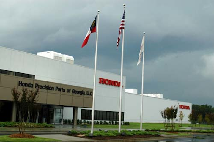 Honda Precision Parts of Georgia Plant in Tallapoosa, GA. Courtesy: Honda.