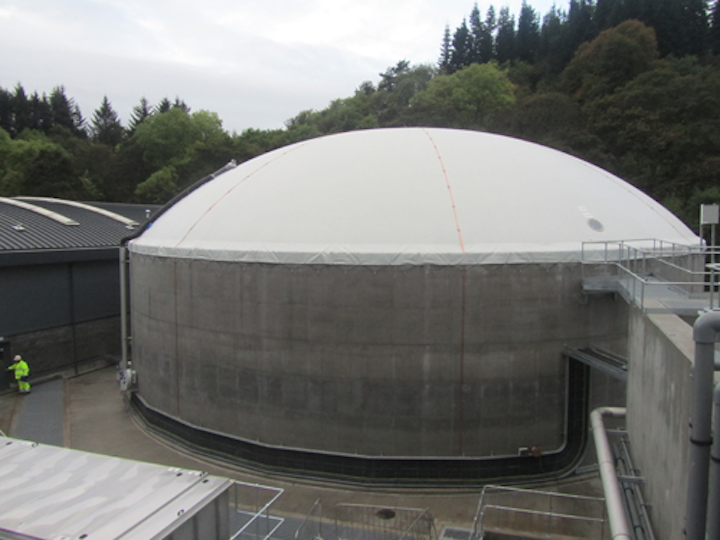 Anaerobic Digestion plant built by Clearfleau at Diageo's Glendullan distillery.