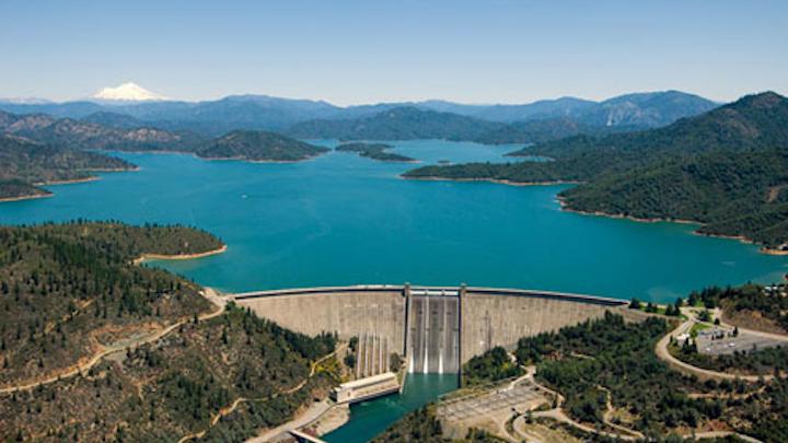 Shasta Dam. Image: Wikimedia Commons.