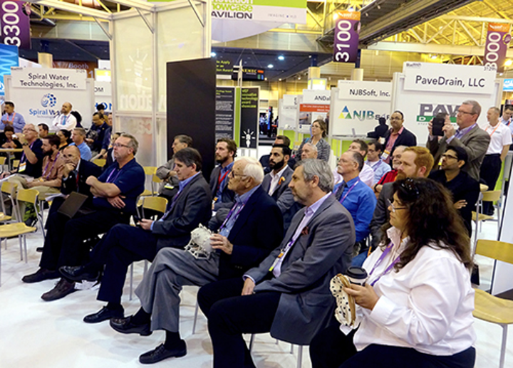 BREW Tank Audience at WEFTEC '16. Photo: The Water Council.