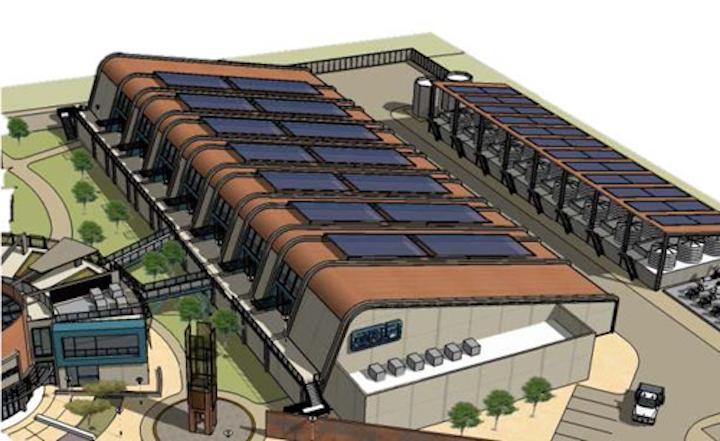 J. F. Shea Construction's GRIP facility illustration