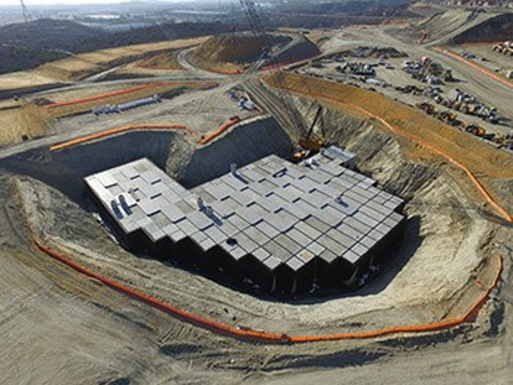 StormCapture is an underground precast concrete stormwater management system.